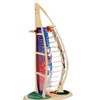 Игрушка для детей 3d деревянный пазл Burj Al Arab bset DIY Монтессори ребенок игрушка также для взрослых хорошо подарок высокое качество древесины