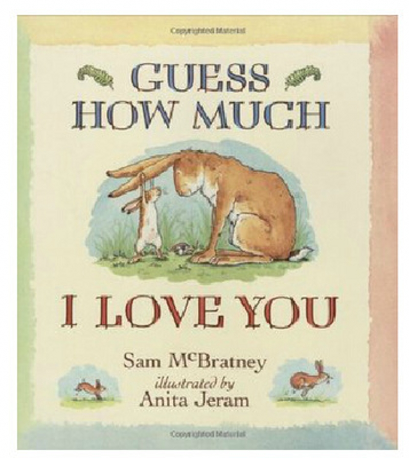 Guess How Much I Love You Kids Books Educational Books ENGLISH Picture Books For Children 0-8 Years Old English Short Stories
