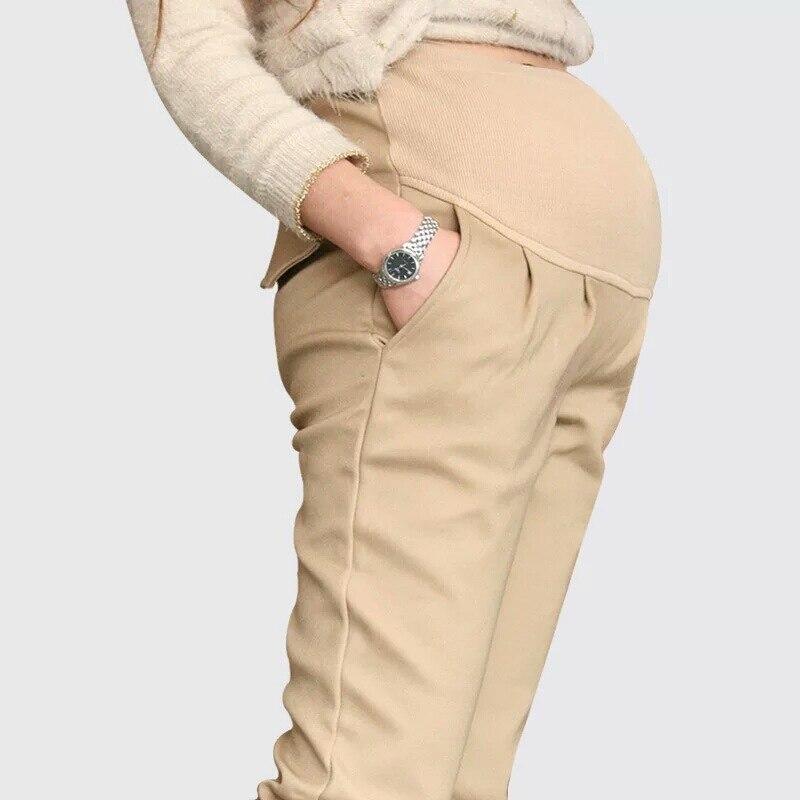 Pantalones de maternidad casuales de 2 colores para mujeres embarazadas Ropa de maternidad para el verano 2018 Pantalones de embarazo Ropa de maternidad