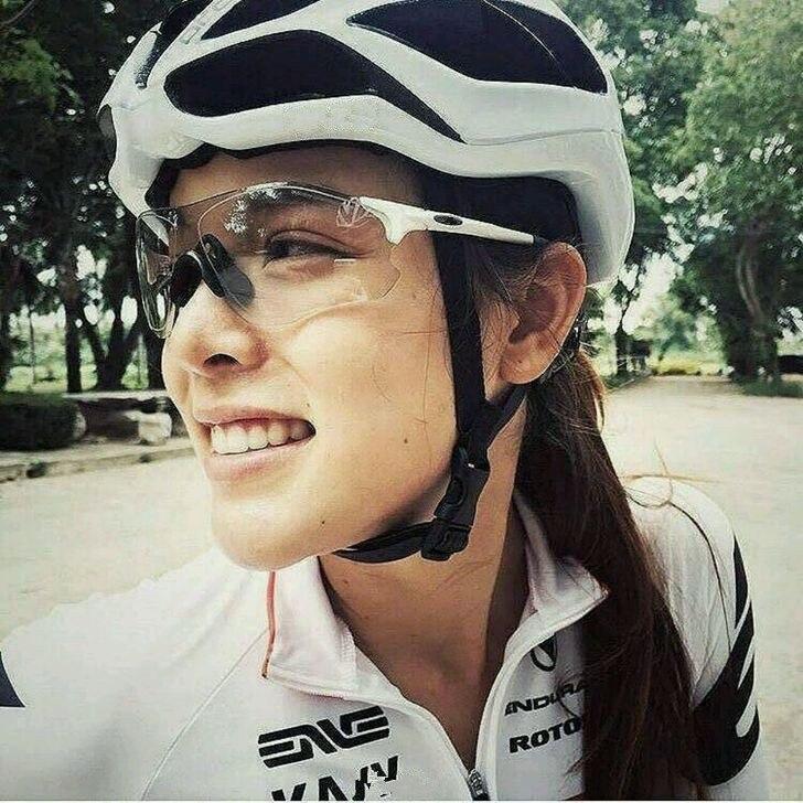 Photochromic óculos de sol lente automática tr90 esportes ciclismo descoloração das mulheres dos homens mtb bicicleta estrada eyewear