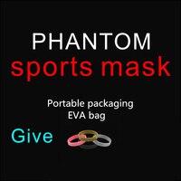 New Phantom Mask Sport Training Or Masks Boxing Athletics Erwachsene Athletics Men Women Fitness Outdoor Pink