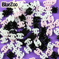 BlueZoo 100 unids/pack Colores Mezclados de Acrílico Rhinestone Del Brillo de la Moda En El Arte Del Clavo Decoración de La Resina, teléfono móvil Del Ordenador Portátil