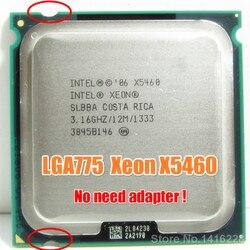 Процессор Intel Xeon X5460 3,16 ГГц 12 МБ 1333 МГц процессор работает на материнской плате LGA 775