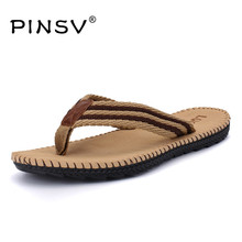 4 Colours Beach Sandals Men Shoes Summer Slippers Flip Flops Men Sandals Big Size 45 Sandalias Hombre Chausson Homme PINSV