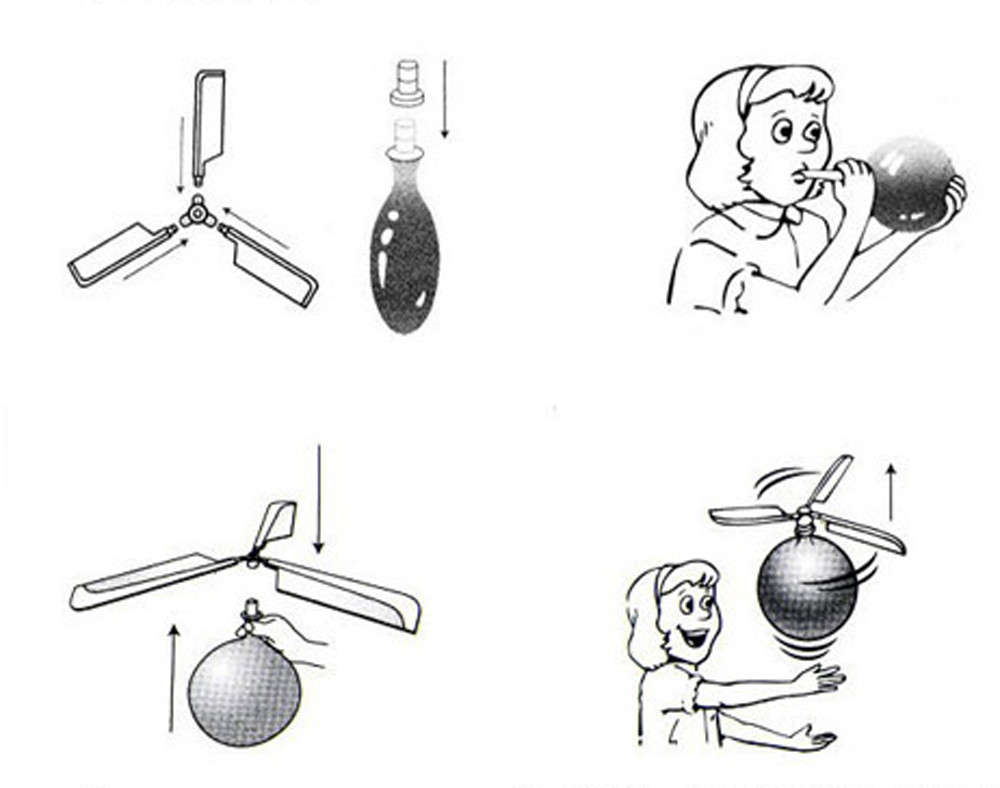 Balloon Helicopter - Flying Toy 1