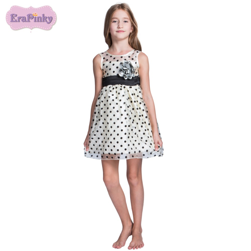 Erapinky Kids Dress Summer Mesh Ball Gown Party Dress For Girls Chidren Costume Kids Teenager Clothes Birthday Party Dresses