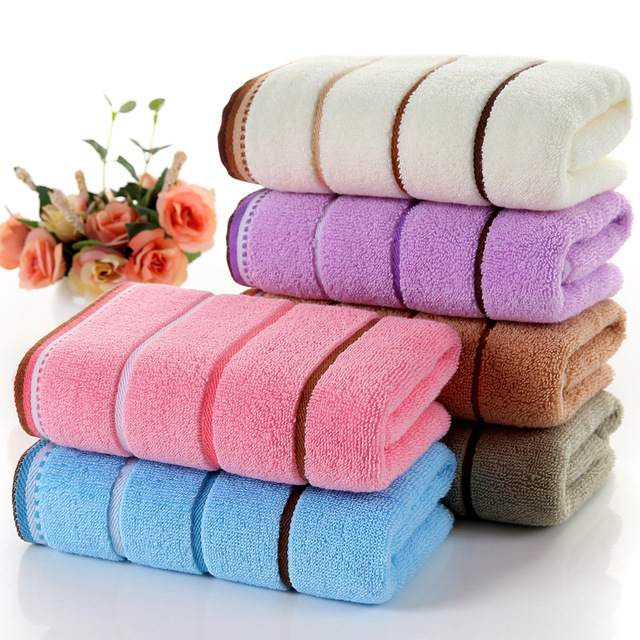 100% Cotton FaceTowel High Quality 5 Colors Hand Towel Sport Towel Bathroom For Home Hotel  Toallas De Mano