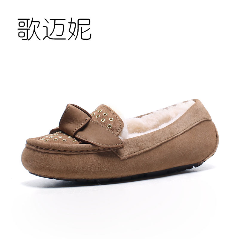 leather flats flat shoes women loafers fur shoes woman zapatos mujer chaussure femme mocasines mujer oxfords women winter shoes new 2016 european brand designer winter warm flats black leather rabbit fur loafers metal decorated hot sell flat shoes women