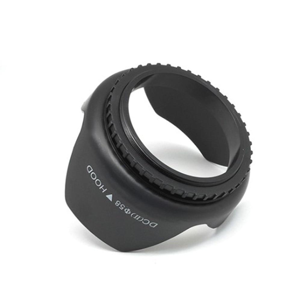 """מוצרי חשמל לבית BAODELI 49 52 55 58 62 67 72 77 82 מ""""מ עדשה הוד עבור Canon 77d 100D אביזרים Sony A6000 Fujifilm Nikon D3000 D3500 D5600 D5100 (5)"""