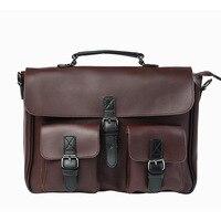 New Fashion Retro Leisure Messenger High Capacity Large Men S Bag Trend Package Shoulder Bag Men