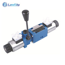 hydraulic directional control valve manual operation solenoid cylinder 24 volt 4WEMM6E61/CG24NZ5L