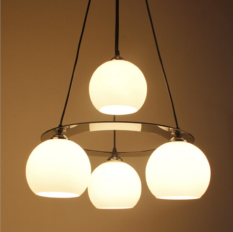 LED Nordic Pendant Lights For Home Lighting Modern Hanging Lamp 85 265V vintage lamp Simple European