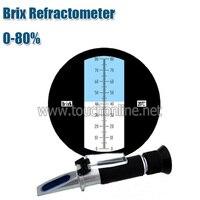 0 80% brix Atago sugar refractometer sugar tester Brix refractometer TB 80