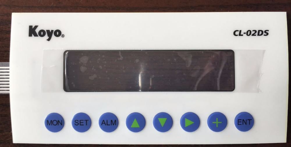 CL-02DS Membrane Keypad FOR REPAIR, HAVE IN STOCK цена