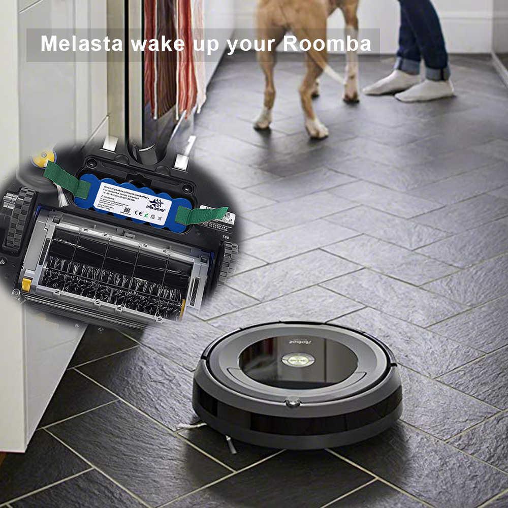 Melasta 14,8 в 4.4Ah Li-Ion Батарея для iRobot Roomba 500 600 700 800 R3 серии 510 530 550 560 610 650 770 780 790 870 880 R3
