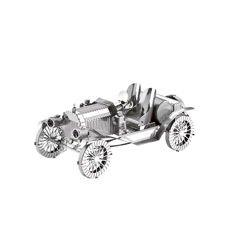 3D Metal Model Puzzles Antique Car DIY Laser Cut Puzzle