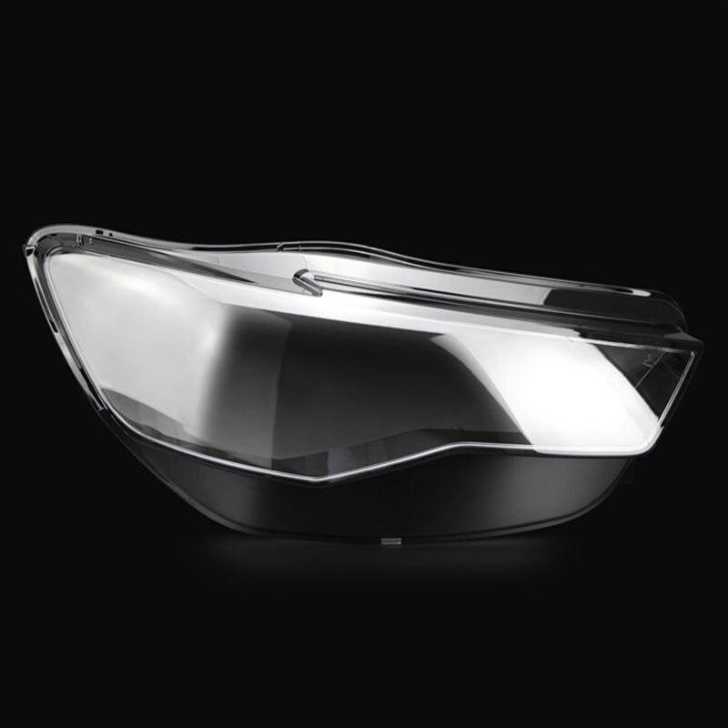 Phares de phare, masque en verre, abat-jour, lampe de logement transparente, masque de PA de C7 pour Audi 2016-2018Phares de phare, masque en verre, abat-jour, lampe de logement transparente, masque de PA de C7 pour Audi 2016-2018