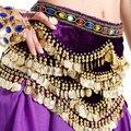 Новый Танец Живота Хип Шарф Племенной Танец Живота Пояса Монета Fringe Пояс Индийского Танца Аксессуары Бесплатная Доставка