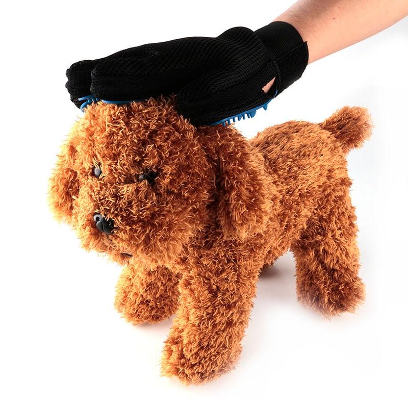 De alta calidad de silicona perro pequeño masaje baño cepillo de lavado herramie