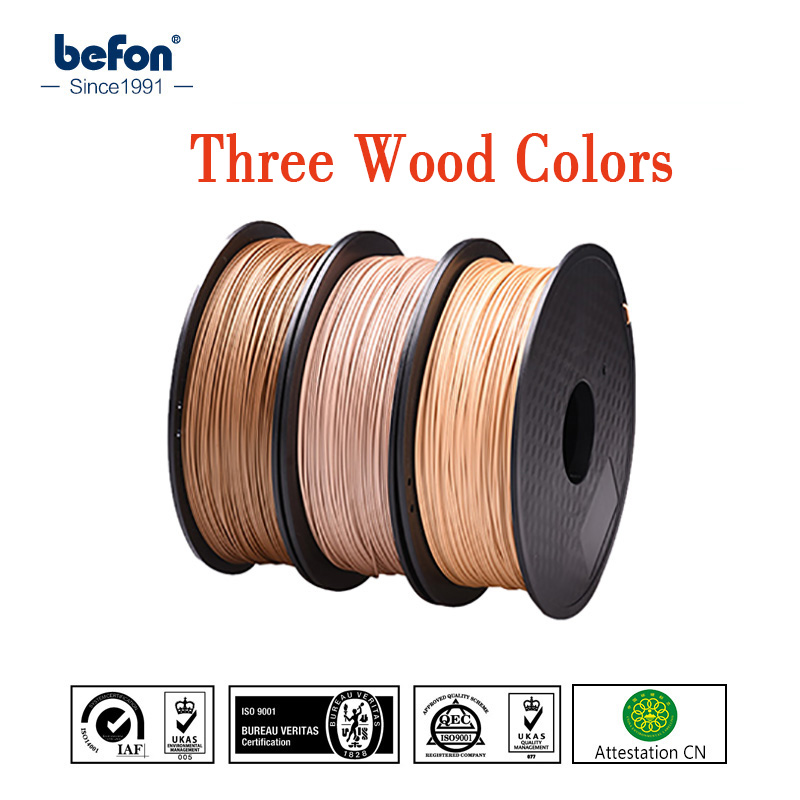 PLA Wood Filament 1.75mm for 3D Printer 0.8kg Wooden Effect 3D Pringting Material High Quality Plastic 3D Consumable Materials micromake 3d printer filament high quality pla materials 1 75mm for 3d printer 1kg environmental consumable