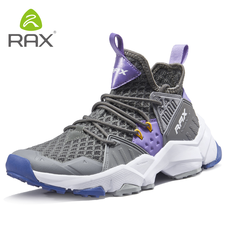 Rax 2019 new style Wome s Hiking Shoes Breathable Light Outdoor Sports Sneakers Female Trekking Shoes