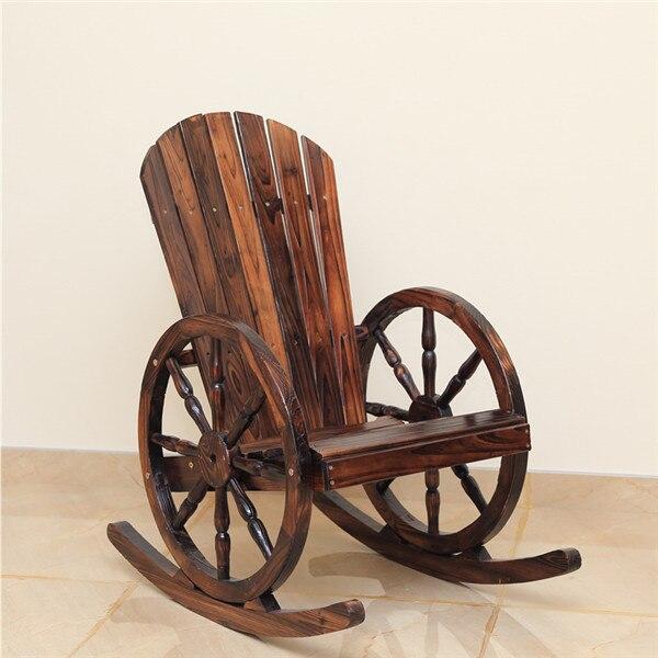 Tremendous Details About Wagon Wheel Wood Adirondack Style Garden Chair Garden Furniture Rocking Chair Unemploymentrelief Wooden Chair Designs For Living Room Unemploymentrelieforg