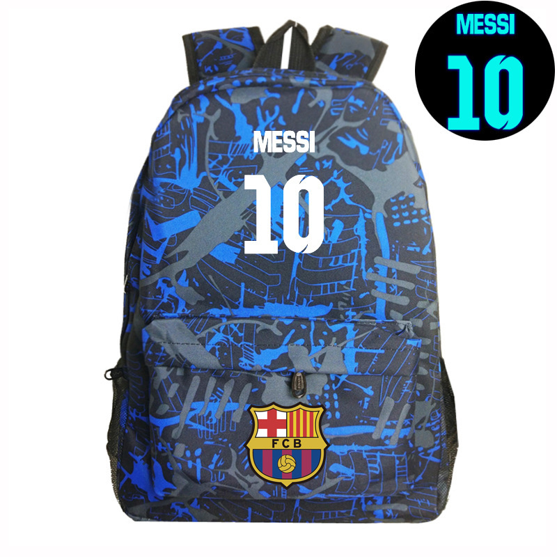 #10 Logo Messi Backpack Bag Men Travel Shoulder Bag Gift Kids Bagpacks Mochila Teenage Girl Backpacks Boy Schoolbag