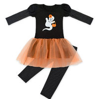 Baby Clothing Sets Girls Dress Pants Suits 2PCS Girl Christmas Boutique Clothing Fall Baby Cartoon Halloween