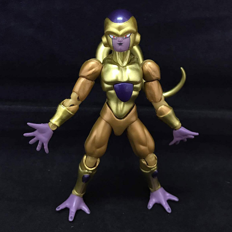 SHF Dragon Ball Z DBZ Golden Freeza Frieza Movable PVC Action Figure Resin Collection Model Toy Doll Gifts Cosplay FREE SHIPPING картридж epson t0964 yellow для stylus photo r2880 c13t09644010