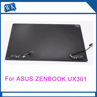 Full LCD Screen Touch Digitizer Replacement Assembly for ASUS Zenbook UX301 UX301LA Back Cover free shipping