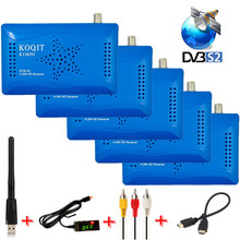 K1 mini decodificador DVB-S2 Receptor de Tv Digital Receptor de satélite Receptor de TV Receptor de Wifi iptv DVB S2 sintonizador Cccamd/ VU/Biss Youtube(China)