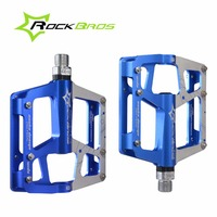 ROCKBROS Ultralight Road Bike Pedals Mountain Bike Pedals Aluminum Alloy Cycling Pedals Bicycle Pedals 3 Bearings