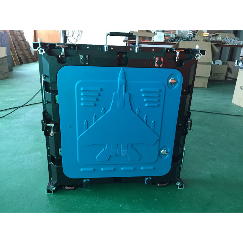 P5 outdoor SMD2727 full color 640X640mm die casting aluminium cabinet waterproof  rgb led display screen video wall panel