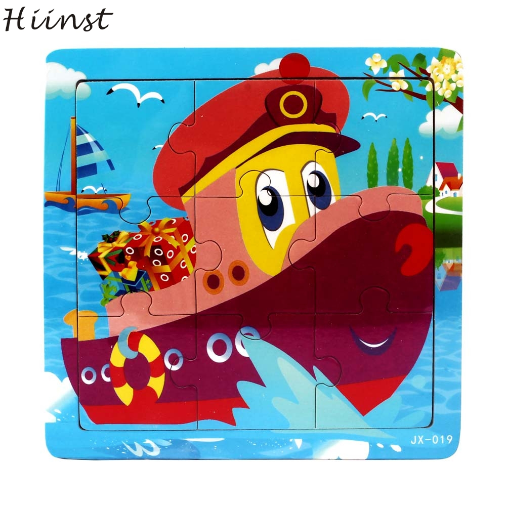 HIINST toys kids 2017 creative Wooden ocean life Toys For Children training wholesale*R Drop