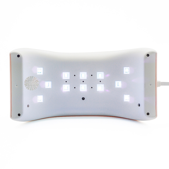 OCEAN PEARL 24W UV Light Nail Dryer Led Lamps Nail For Gel Polish Curing Double Power Nail Art Tools Sun9x 1