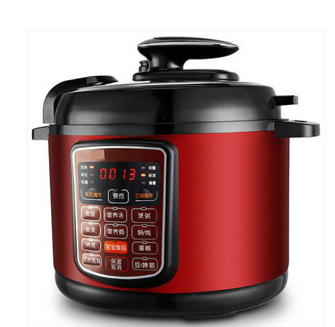 Electric Pressure Cookers pressure cooker 5L computer board multi-function fully automatic. multi function high pressure pot multifunction electric pressure cooker smart household 6l large capacity 5 6 people automatic