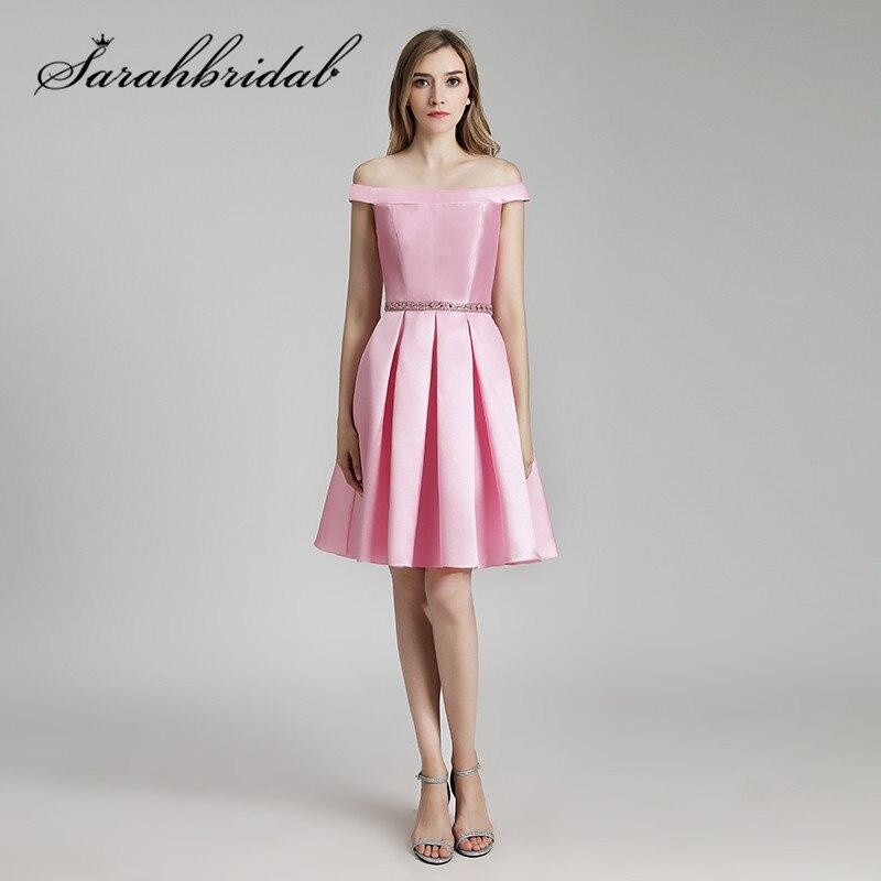 Großartig Kurze Rosa Brautjungfer Kleider Galerie - Brautkleider ...