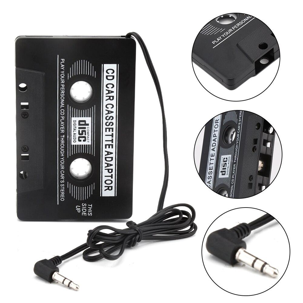 cassette aux adapter car cassette tape cassette mp3 player converter jack plug for ipod. Black Bedroom Furniture Sets. Home Design Ideas