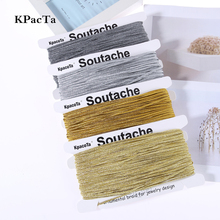KPacTa Multiple Colour 34 Yard(31 meters) Chinese Soutach Color Ethnic Snake Belly Cord DI
