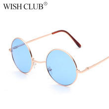 9520169a42 2019 de moda pequeño Oval gafas de sol para mujer hombres Retro rojo marco  Vintage redondo pequeño, gafas de sol para mujeres DJ.