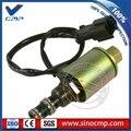 20Y-60-22121 поворотный Соленоидный клапан для экскаватора Komatsu PC200-6 PC-6 6D95