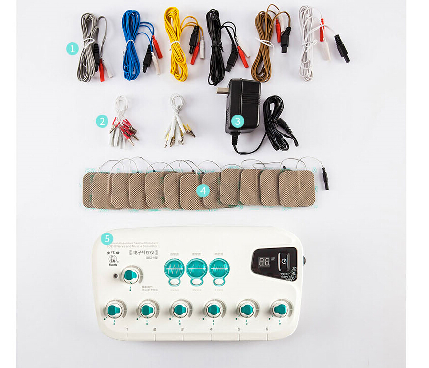6 Output CFDA EMS TENS unit waist back body massage machine Health multi-functional acupuncture stimulation Muscle relaxation6 Output CFDA EMS TENS unit waist back body massage machine Health multi-functional acupuncture stimulation Muscle relaxation