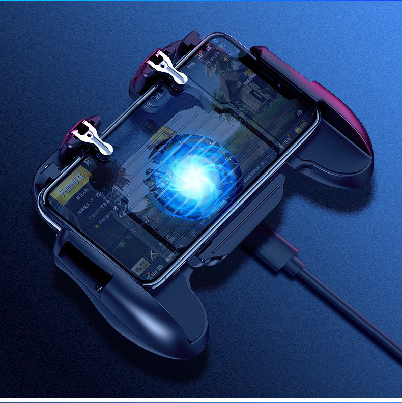 Image 5 - PUBG Mobile Game Controller for iPhone Android Phone Gamepad Trigger Aim Button L1R1 Shooter Joystick For Game Pad Accesorios-in Gamepads from Consumer Electronics