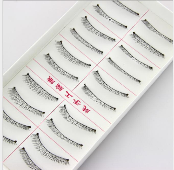 Beauty Essentials 216# Natural Crisscross Diy False Eyelashes Eyewinker As Handmade Fake Eyelashes Artificial Eyelashes For Personal Makeup Mate