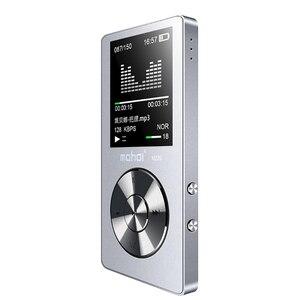 """Image 3 - New Metal 1.8 """"Giocatore di Musica Dello Schermo Portatile Lettore Audio Digitale di Marca Originale Lettore MP3 con FM Radio Voice Recorder"""