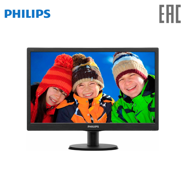 "Монитор Philips 18.5"" 193V5LSB2/10 (62) Черный"