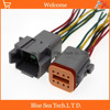 2 Pairs Deutsch DT06 8S And DT04 8P 8 Pin Engine Gearbox Electrical Connector With Cable
