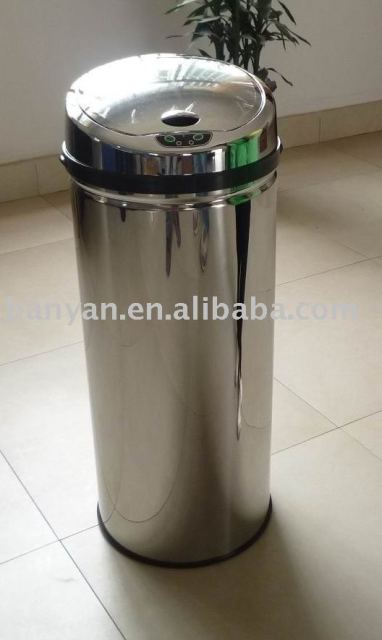 sensor trash bin, sensor trash can,Automatical dustbin 42L,best selling
