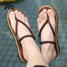 Summer Men Slippers Flip-Flip Sandals Flat Flip Flops Cool Slippers Men Sumer Shoes Beach Slippers 2018