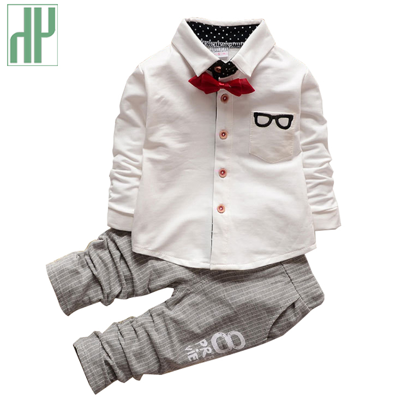 Boutique Kids clothes boys Autumn children clothing sets gentleman toddler boys formal clothes birthday dress baby wedding suits пуховики boutique children s clothing 1305 2015